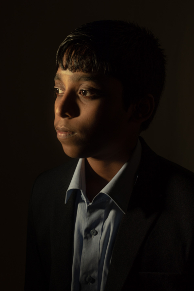 Rameshbabu Praggnanandhaa, 15, youngest International Master in Chess, photographed in Chennai, India.