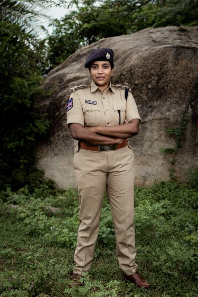 Rema Rajeshwari, Indian Police Service Officer.